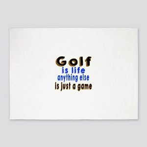 Golf Is Life Anything Else Is Just 5'x7'Area Rug