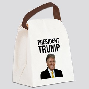 President Trump Canvas Lunch Bag