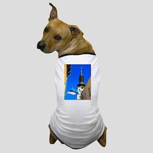 Blue Skies of Estonia Dog T-Shirt