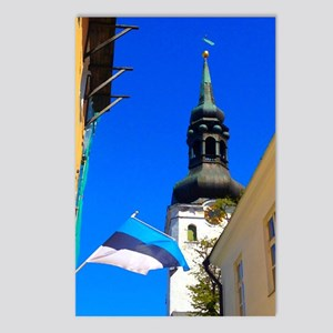 Blue Skies of Estonia Postcards (Package of 8)