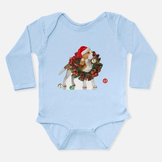 Beagle Christmas Bells Body Suit
