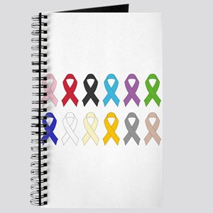 Awareness Ribbons Journal