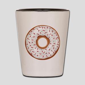 Christmas Sprinkles Donut Shot Glass