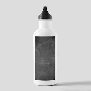Rustic Chalkboard Back Stainless Water Bottle 1.0L