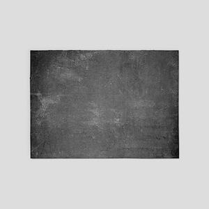 Rustic Chalkboard Background Textur 5'x7'Area Rug