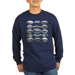 1,000 Foot Freighters On The Long Sleeve T-Shirt