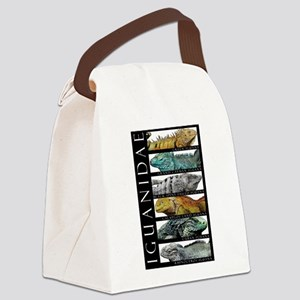 Iguanas of the World Canvas Lunch Bag