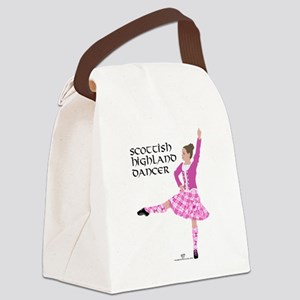 Scottish Highland Dancer Canvas Lunch Bag