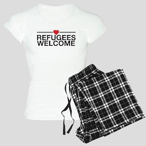 Refugees Welcome Pajamas