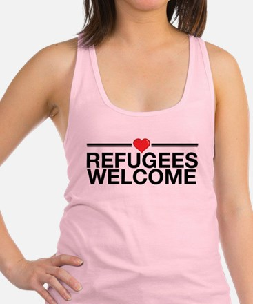 Refugees Welcome Tank Top
