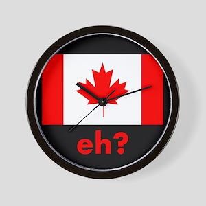 Eh? Canada Wall Clock