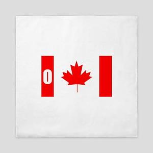 O Canada Queen Duvet
