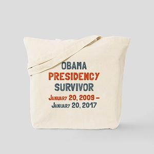 Obama Presidency Survivor Tote Bag