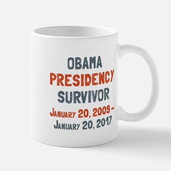 Obama Presidency Survivor Mug