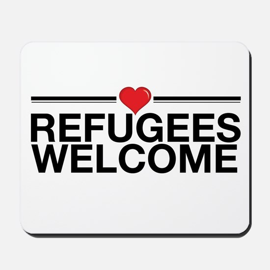 Refugees Welcome Mousepad