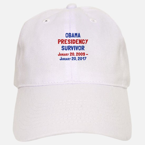 Obama Presidency Survivor Baseball Baseball Cap