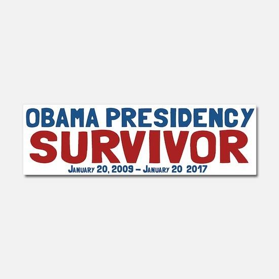 Obama Presidency Survivor Car Magnet 10 x 3