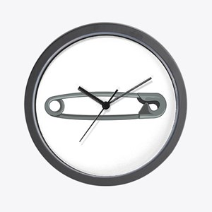 SafetyPIN Wall Clock
