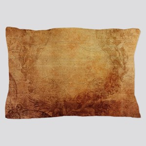 Antique Vintage Nostalgic Texture Pillow Case