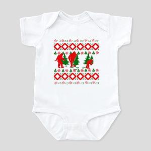 Ugly Bigfoot Tracker Infant Bodysuit