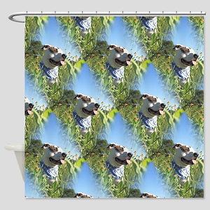 Pit Bull T-Bone Shower Curtain