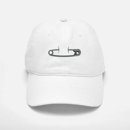 Safety Pin Baseball Baseball Baseball Cap