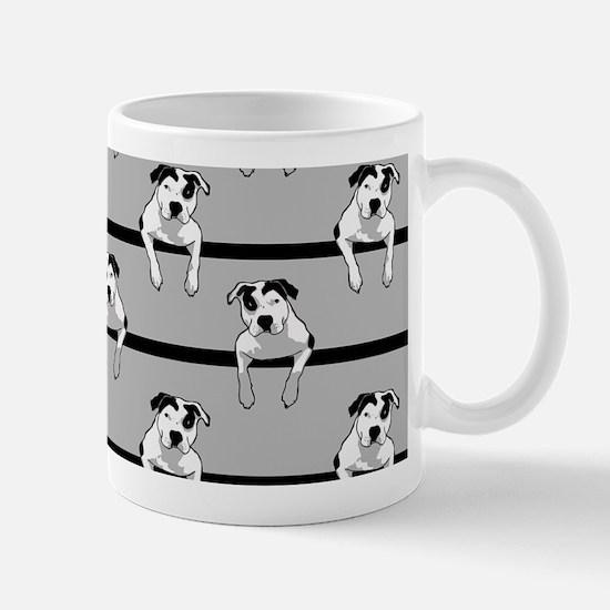 Pit Bull T-Bone Graphic Mugs