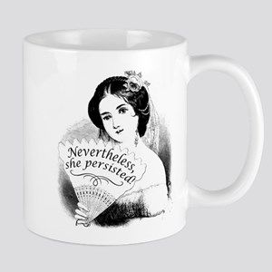 Nevertheless, She Persisted Victorian Lady & Mugs