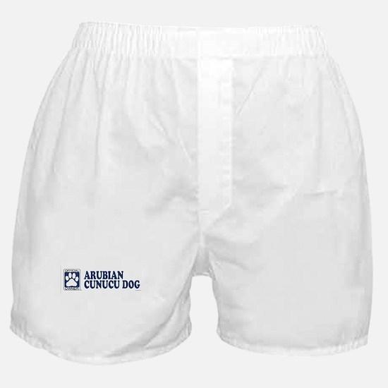 ARUBIAN CUNUCU DOG Boxer Shorts