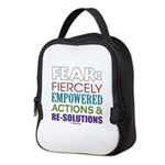 No Fear Neoprene Lunch Bag