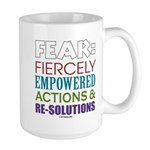 No Fear Large Mug