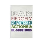 No Fear Rectangle Magnet (100 pack)
