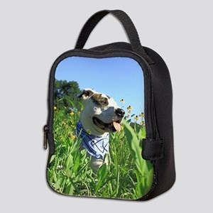 Pit Bull T-Bone Neoprene Lunch Bag