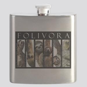 Sloths of the World Flask
