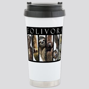 Sloths of the World 16 oz Stainless Steel Travel M