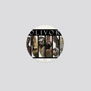 Sloths of the World Mini Button