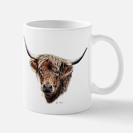 Highland cow Mugs