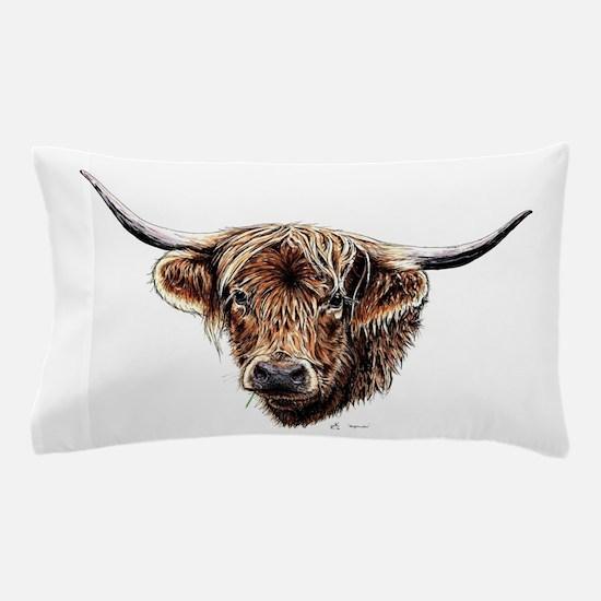 Highland cow Pillow Case