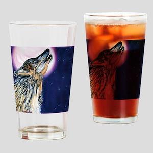 Wolf Woman Dances Drinking Glass