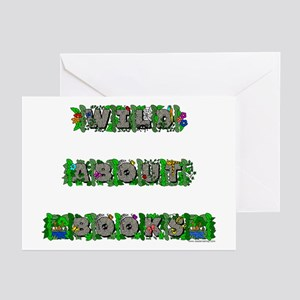 Wild About Books Greeting Cards (Pk of 10)