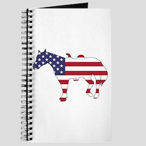 Horse - American Flag Journal