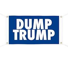 Blue Dump Trump Banner