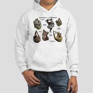 Sloths of the World Hooded Sweatshirt