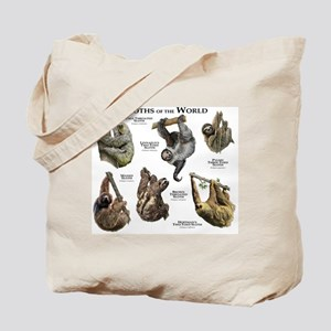 Sloths of the World Tote Bag