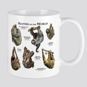 Sloths of the World Mug
