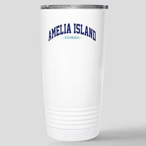 Amelia Island Florida A Stainless Steel Travel Mug