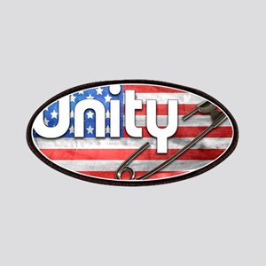 Safety Pin, Unity, American Flag Patch