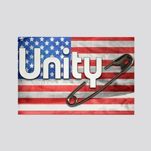 Safety Pin, Unity, American Flag Magnets