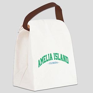 Amelia Island Florida Athletic St Canvas Lunch Bag