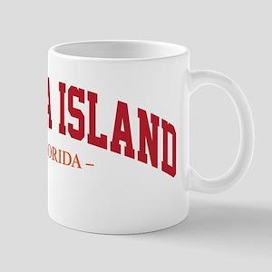 Amelia Island Florida Athletic Style Mugs